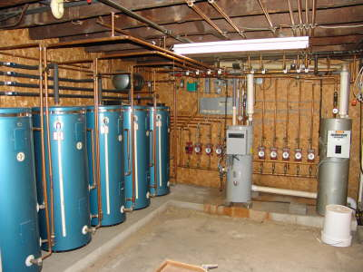 Hot Water Holding tanks
