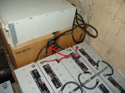 UPS wiring to batteries